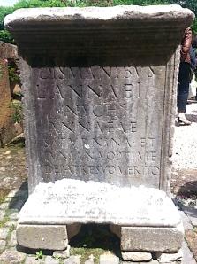 Mondragone_Inscription
