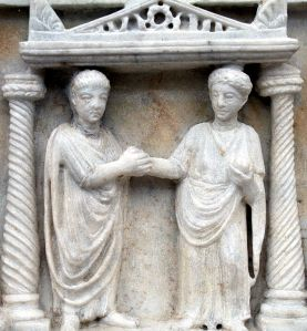 Image source: http://en.wikipedia.org/wiki/Women%27s_rights#mediaviewer/File:Dextrorum_iunctio_edited.JPG.