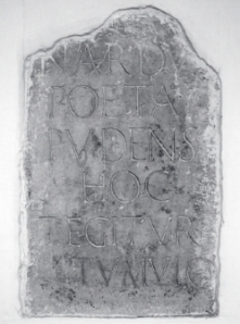 Nardus inscription. – Image source: http://rm.univr.it/biblioteca/volumi/ebanista/2.1.Ricci.pdf
