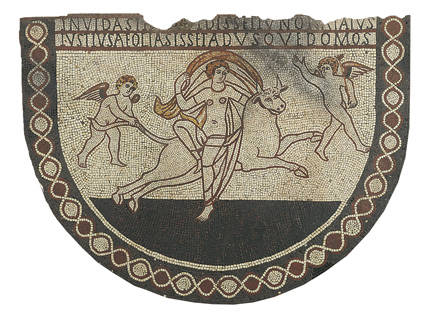 Lullingstone mosaic. – Image source: http://www.english-heritage.org.uk/content/properties/lullingstone-roman-villa/lullingstone/lullingstone-research-023.jpg.