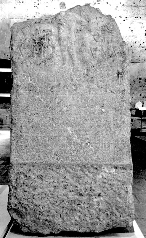 Inscription for Eutyches (Tarragona). – (c) Museu Diocesà. Photo PK 2015.
