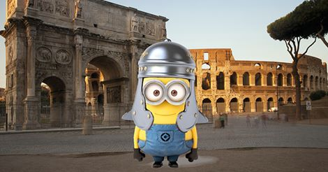 A minion in ancient Rome. (Artist unknown)