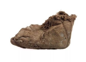 A child's sock from Vindolanda. – Image source: https://twitter.com/vindolandatrust/status/537590855037878273.